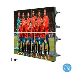 LED Sreen  Electronic Outdoor RENTAL Series Pixel 4.81 RGB Full Color 1m2 (4 Stackable Modules + Control)