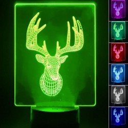 Table lamp - 3D RGB - DERR -