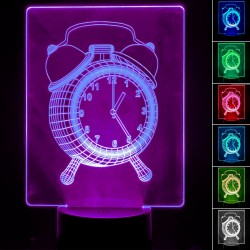 Table lamp - 3D RGB - WATCH -