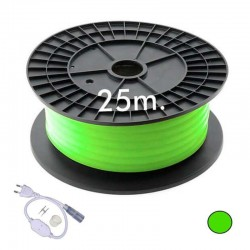 Neón LED CIRCULAR Flexivel 220V Bobina  25m 16mm  - 9,6W/m - Verde