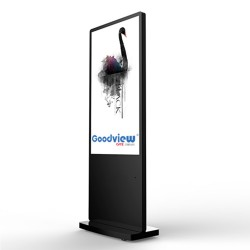 Totem  Advertising Poster LCD Full HD Goodview 55 ″ - Use 24h.