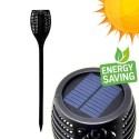 Solar LED Torch with spike - Flame Effect