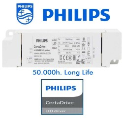 LED-panel 62x62cm 44W Driver Philips UGR17