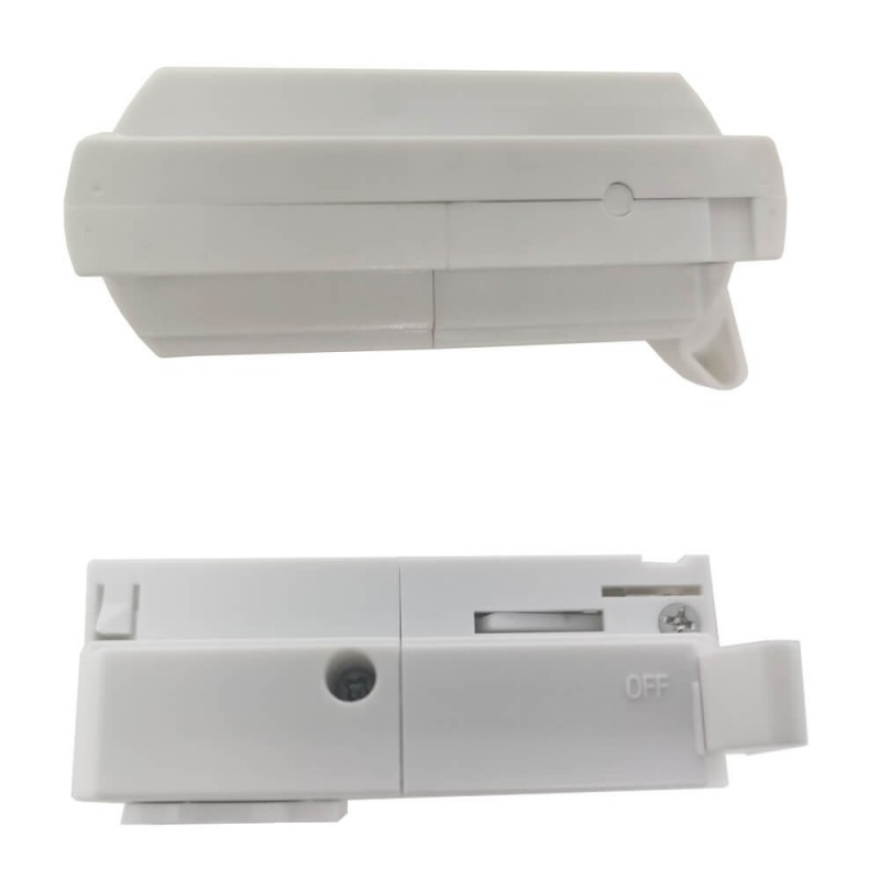 Single-phase rail adapter connector