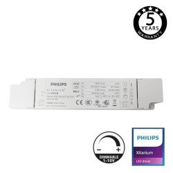 Driver DIMMABLE XITANIUM Philips for LED Lightings 44W - 1050mA - 5 Years Warranty