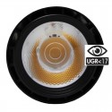 LED Tracklight 40W BERLIN Black 24º single-phase rails CRI +90