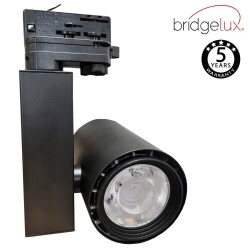 3-PHASE LED Tracklight 40W BERLIN Black CRI +90 UGR17