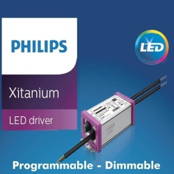 Driver Dimmable Programmable Philips XITANIUM Driver for LED up to 65W - 2100 mA - 5 years Warranty