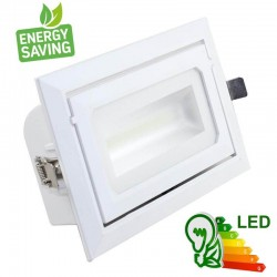 Foco proyector LED 40W OSRAM Chip orientable rectangular - COLOR SELECCIONABLE - CCT 120º
