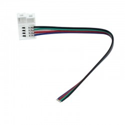 Conector tira LED RGB IP20