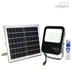 LED Outdoor Floodlight SOLAR 20W Avance IP65