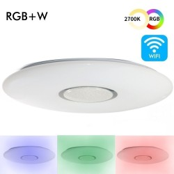 24W SMART RGB+CCT LED Ceiling Light - Dimmable