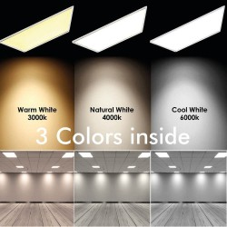 Panel LED 60x60 cm 40W  120º Frame White - CCT
