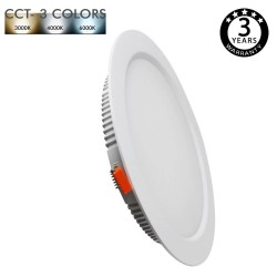 Downlight LED 30W COLOR SELECCIONABLE - CCT- 120°