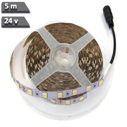 Indoor flexible LED strip 14.4W * 5m 5050 24V
