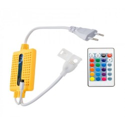 Rectifier Cable for LED Strip 220V - RGB with Remote Control