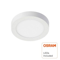 Plafond LED Superfície Circular 15W  - OSRAM CHIP DURIS E 2835