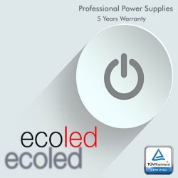 Power supply  PROFESSIONAL 12V 60W - ECOLED - IP20 - TÜV
