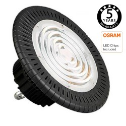 LED 200W  Industriestrahler UFO OSRAM chip 3030-2D 160lm/w IP65