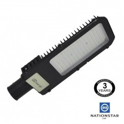 150W LED Streetlight NIZA SMD 3030 NATIONSTAR  70º-140º