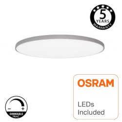 18W LED Surface Ceiling Lamp OSRAM Chip - ASKER - Silver