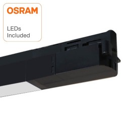 20W LED LINEAR  ZURICH Spotlight Single-phase rails 100º