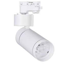 3-PHASE LED Tracklight Rail 30W LIMON White