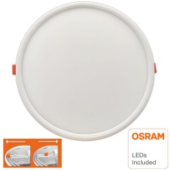Placa Slim LED Circular Downlight 20W AJUSTABLE OSRAM Chip