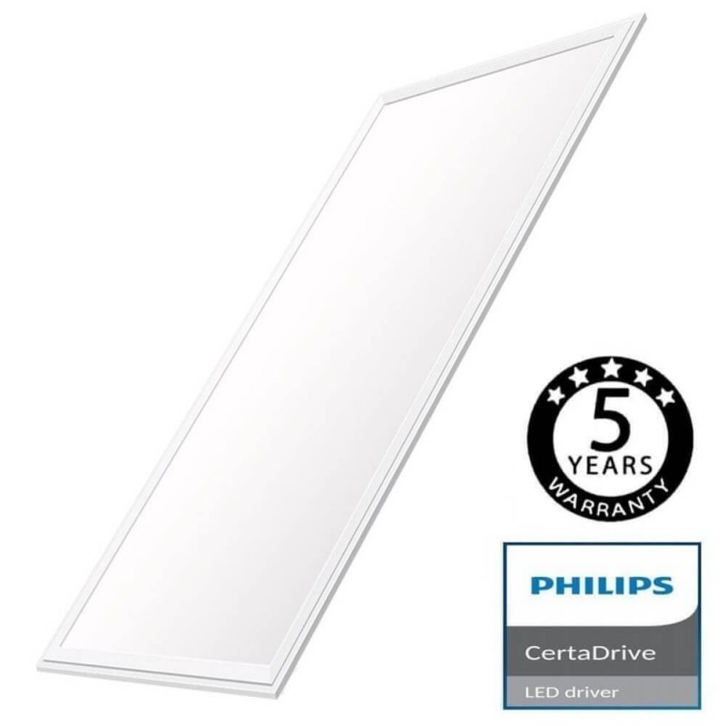 Panel LED 120x60 80W CERTA Driver Philips - 5 years Warranty