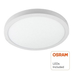 Plafonnier LED avec Surface Rond 30W  - OSRAM CHIP DURIS E 2835