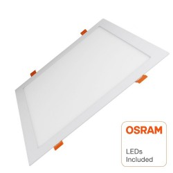 LED Panel Downlight Slim firkantet 30W - OSRAM CHIP DURIS E 2835