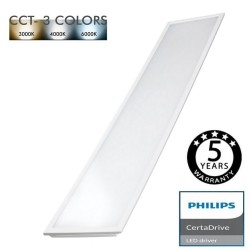 LED Panel LED 44W 120x30 TreiberPhilips - CCT
