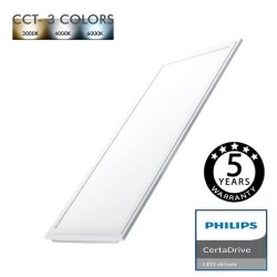 Painel LED 60X30 cm 44W Driver Philips - CCT