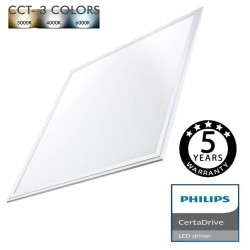 Panel-LED 62x62cm 44W Certa Driver Philips - CCT