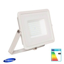 LED Outdoor Floodlight  White 50W IP65  Elegance