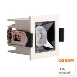 5W LED Downlight OSRAM chip  PALACE 24º UGR17 140lm/W
