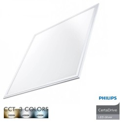 Panel-LED 62x62 44W Certa Driver Philips - CCT