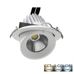 Downlight LED Encastrable 25W - 24º - CCT - Couleur sélectionnable