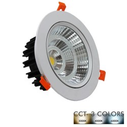 25W Downlight LED 120º - CCT- Selectable Color