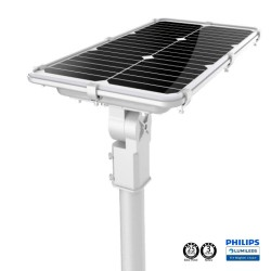 75W Solar LED  Streetlight - PROFESSIONAL - ALL IN ONE - with Motion Sensor  170lm/W