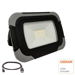 10W OSRAM Rechargeable LED Spotlight