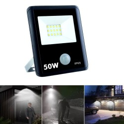50W LED Floodlight  with Motion Sensor PIR