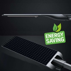 Apparecchio LED Solar 100W PROFESSIONALE - ULTRA SLIM - Sensore di Movimento  150lm/W