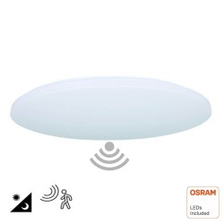 LED Ceiling Light Surface 18W  - 4000K - RADAR Motion Sensor
