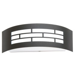 Aplique para LED E27 GOTHENBURG GRIS  Exterior IP44