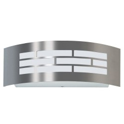 Aplique para LED E27 GOTHENBURG INOX  Exterior IP44