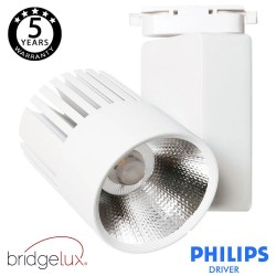 Faretto LED 40W UPPSALA Bianco BRIDGELUX Chip binario Monofase CRI +90