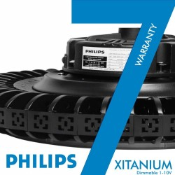 High Bay LED UFO 200W Philips Driver XITANIUM - Dimmable 1-10V