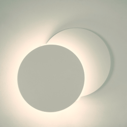 Applique LED - 5W - ECLIPSE Blanc  é