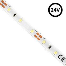 Striscia LED flessibile per interni 4.5W*5m SMD2835 - 24V IP20 CRI80